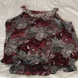 Dress barn sleeveless blouse